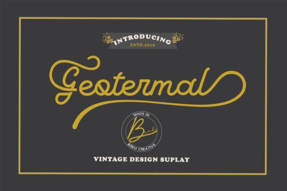 Geotermal Font