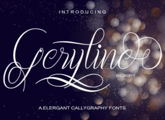 Geryline Font