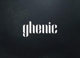 Ghenic Font