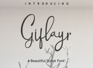 Gifloyr Font
