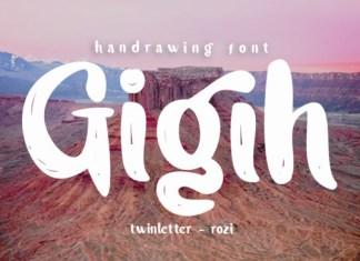Gigih Font