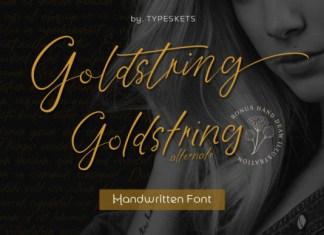 Goldstring Font