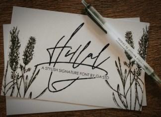 Hillal Font