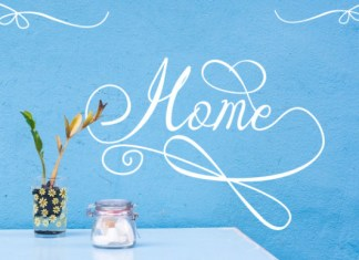 Home Font