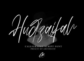 Hudzaifah Font