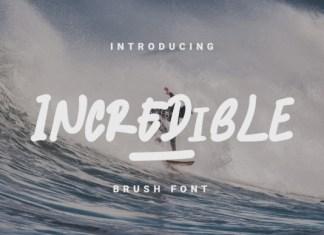 Incredible Font