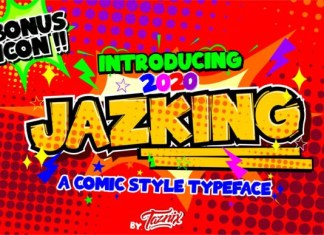 Jazking Font
