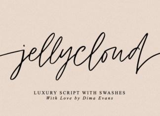 JellyCloud Font