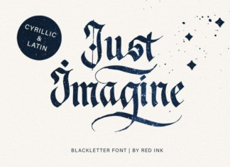 Just Imagine Font