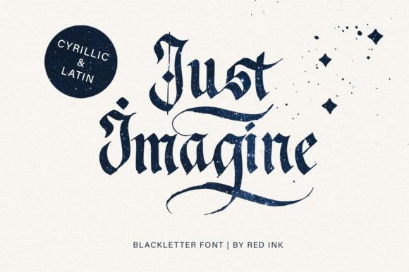 Just Imagine Font