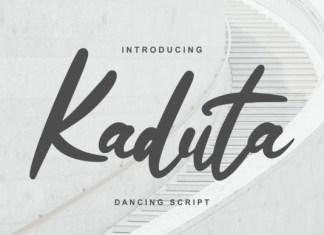 Kaduta Font