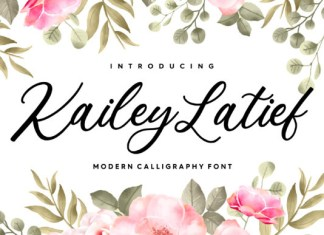 Kailey Latief Font