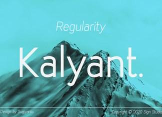 Kalyant Font