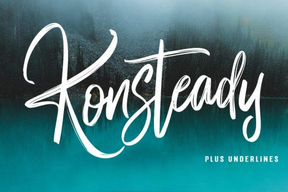 Konsteady Font