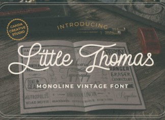 Little Thomas Font