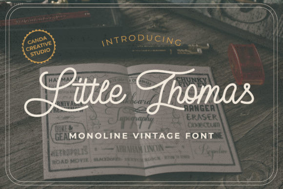 Little Thomas Font