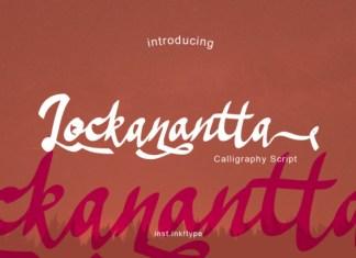 Lockanantta Font