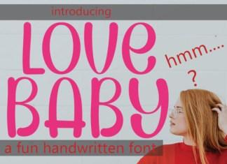 Lovebaby Font
