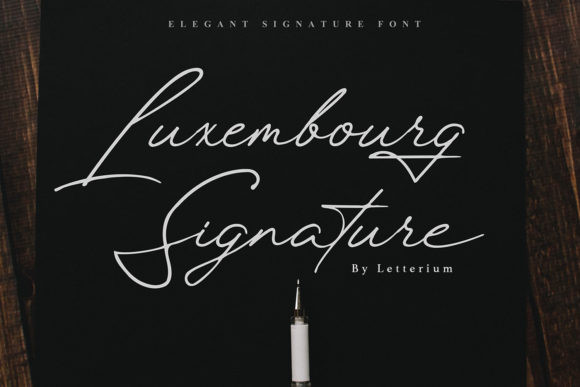 Luxembourg Font