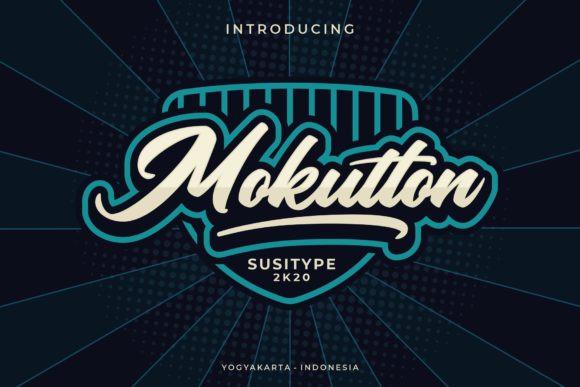 Mokutton Font