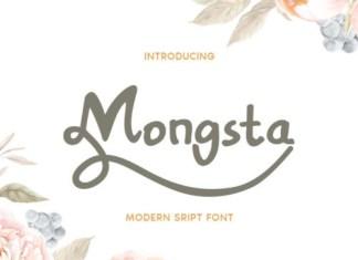 Mongsta Font