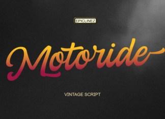 Motoride Font