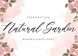Natural Garden Font