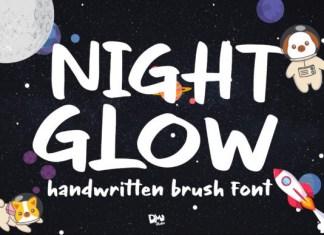 Night Glow Font