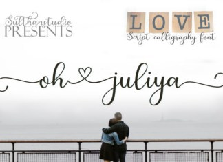 Oh Juliya Font