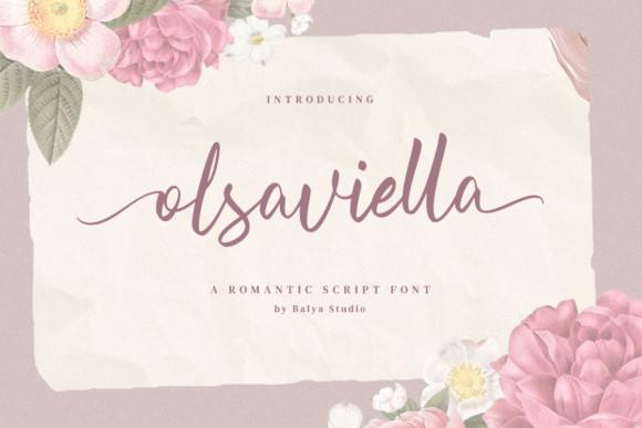 Olsaviella Font