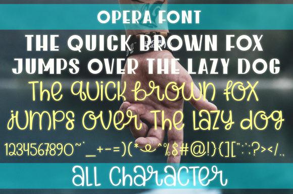 Opera Font