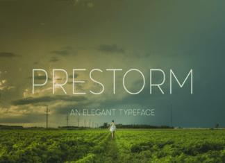 Prestorm Font