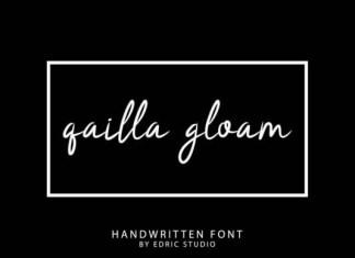 Qailla Gloam Font