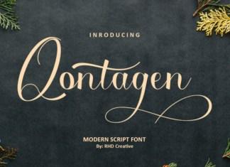 Qontagen Font