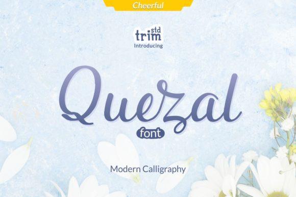 Quezal Font