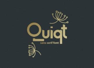 Quiqt Font