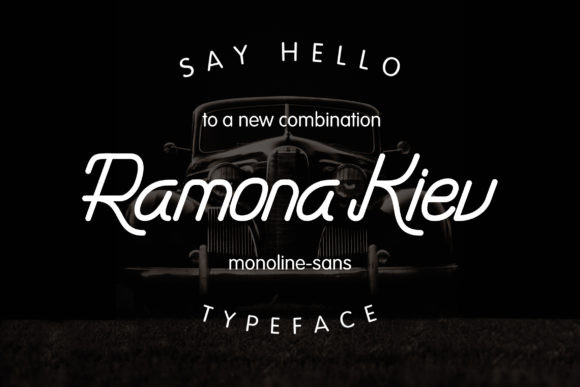 Ramona Kiev Font