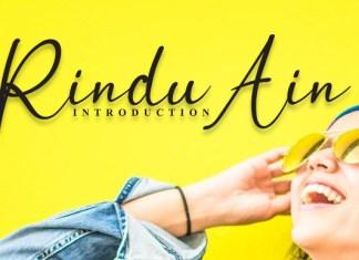 Rindu Ain Font