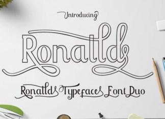 Ronalld Font