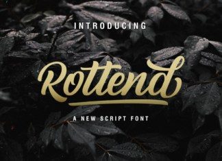 Rottend Font