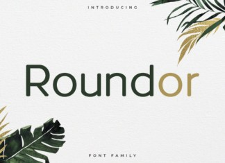 Roundor Font