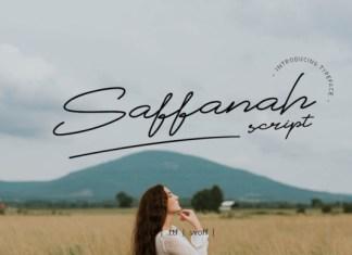 Saffanah Font