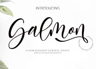 Salmon Font