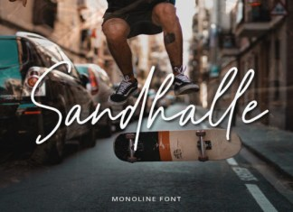 Sandhalle Font