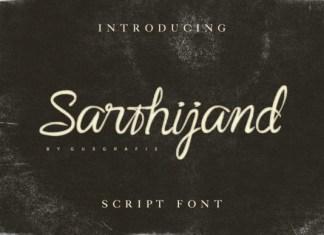 Sarthijand Font