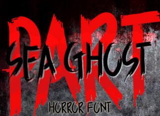 Sea Ghost Font