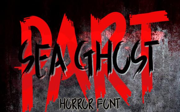 Sea Ghost Font