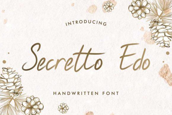 Secretto Edo Font