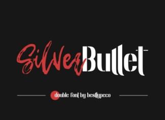 Silver Bullet Font