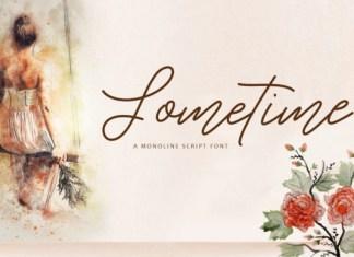 Sometime Font